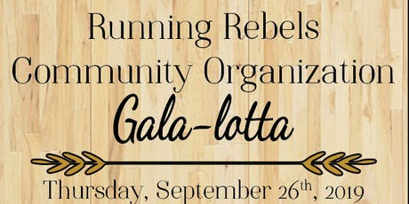 Running Rebel Community Organization EPIC Gala-lotta tickets