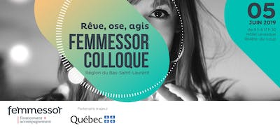 Colloque Femmessor - Région du Bas-Saint-Laurent