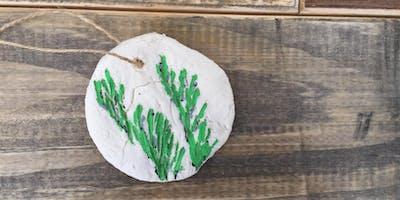 Kids Club: Evergreen Salt Dough Ornament - Muncie