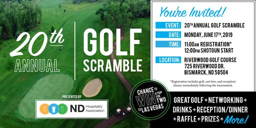 20th Annual NDHA Golf Scramble