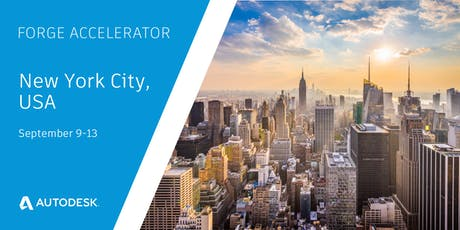 Autodesk Forge Accelerator - NYC (Sept 9 - 13)  tickets