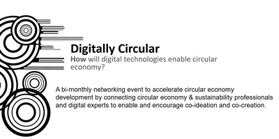 Digitally Circular - June 2019/World Circular Economy Forum side-event