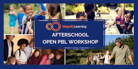 Afterschool Open PBL Workshop tickets