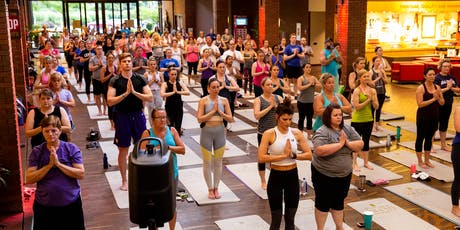 Yoga + Beer at The Biergarten at Anheuser-Busch tickets