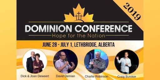 Dominion Conference Lethbridge 2019