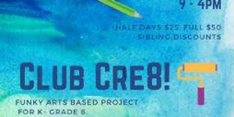 Club Cre8 June 28th tickets