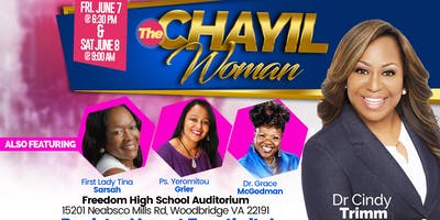 2019 WOMAN OF CHARACTER CONFERENCE - Woodbridge - June Friday 7 2019