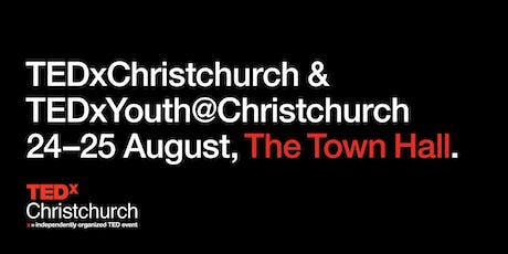 TEDxChristchurch 2019 | August 24-25  tickets