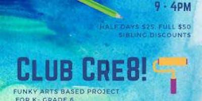 Club Cre8 July 29