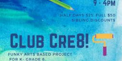 Club Cre8 August 12