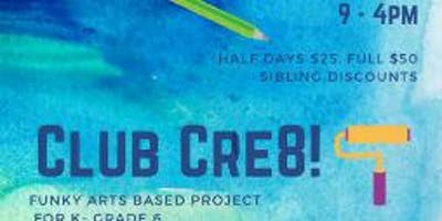 Club Cre8 August 19