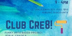 Club Cre8 August 26