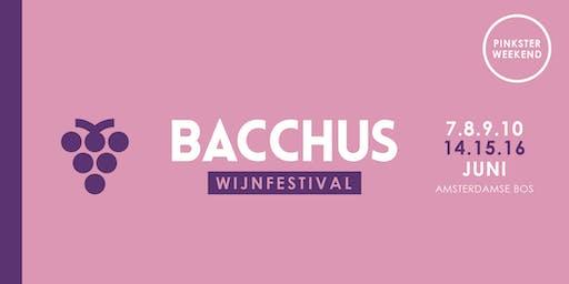 Bacchus Wijnfestival 2019 - zaterdag 15 juni