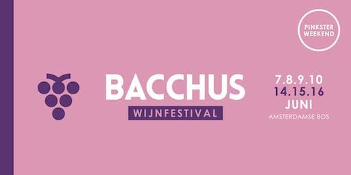 Bacchus Wijnfestival 2019 - zondag 16 juni (vaderdag)