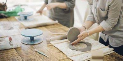 Intro to Handbuilding with Helena DeJong