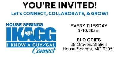 House Springs IKAGG Weekly Meeting