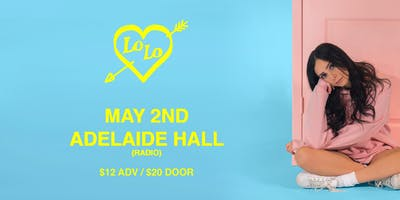Lo Lo at Adelaide Hall (Live Debut)