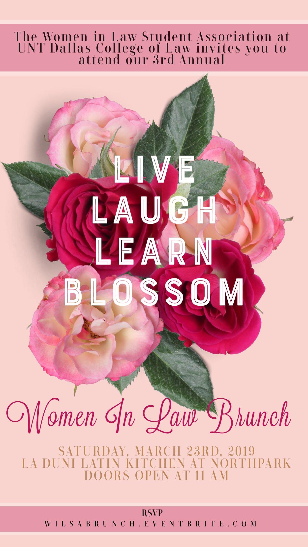3rd Annual Women in Law Brunch