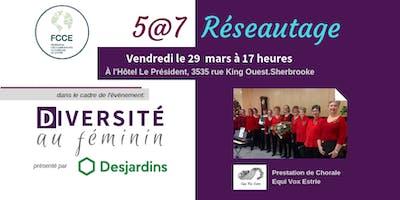 5@7 Réseautage - Diversité au Féminin