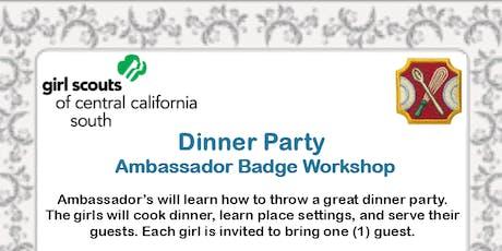 Dinner Party - Ambassador Badge Workshop - Kings County  tickets