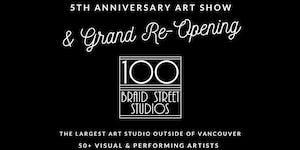 100 Braid St Studios 5th Anniversary Art Show & Grand...