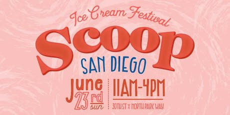 Scoop San Diego Ice Cream Festival tickets