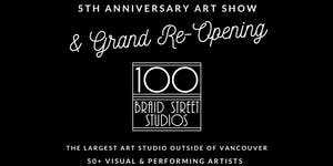100 Braid St Studios Grand Re-Opening - Fusion Arts Day
