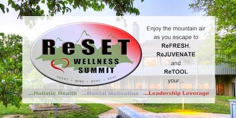 ReSET Wellness Summit tickets