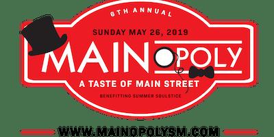 6th Annual MAINopoly: Taste of Main Street 2019