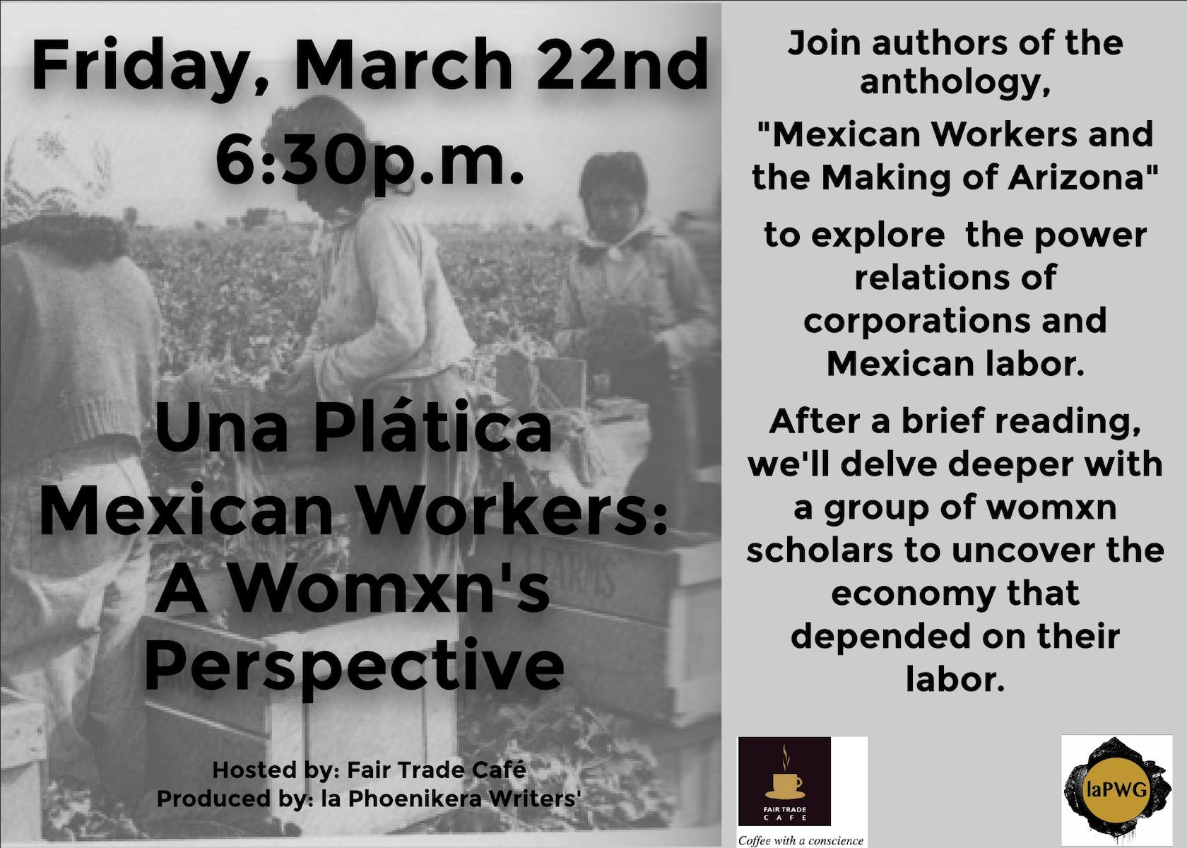 Una Plática - Mexican Workers, A Womxn's Perspective