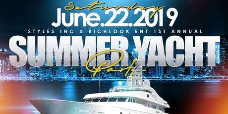 Summer Yacht Party tickets
