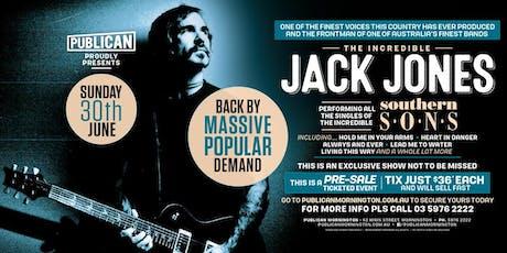 Jack Jones LIVE at Publican! tickets