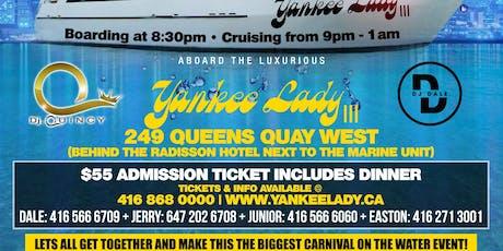 Caribana Yacht party 2019 tickets