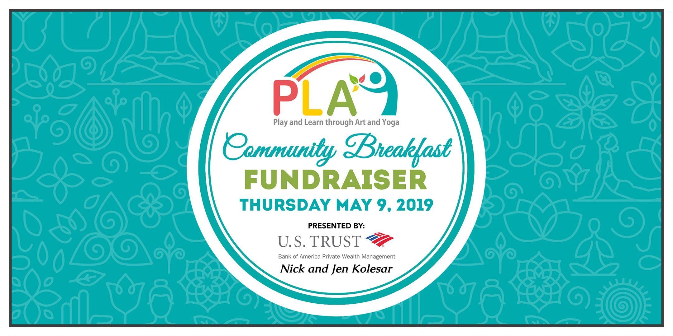 1st Annual PLAY Community Breakfast Fundraiser