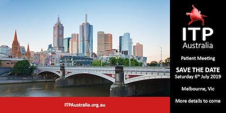 ITP Australia - Patient Meeting tickets