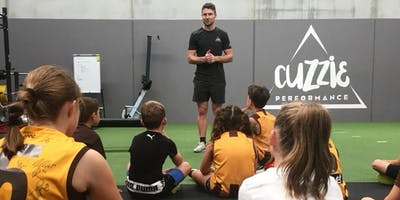 CUZZIE AFL SCHOOL HOLIDAY CLINIC WITH LIAM SHIELS