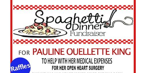 Pasta Dinner for Pauline Ouellette King
