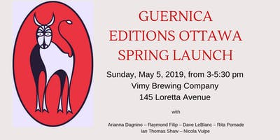 Guernica Editions Ottawa Spring Launch