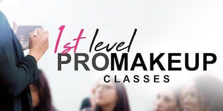 1st Level PRO Makeup Classes • Carolina entradas