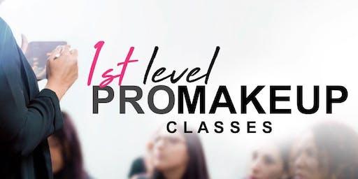1st Level PRO Makeup Classes • Carolina