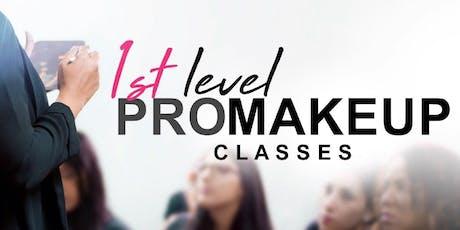 1st Level PRO Makeup Classes • Guaynabo entradas