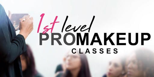1st Level PRO Makeup Classes • Guaynabo