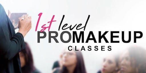 1st Level PRO Makeup Classes • Guaynabo