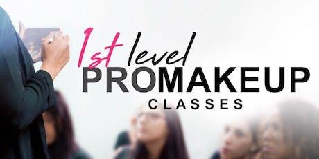 1st Level PRO Makeup Classes • Arecibo entradas