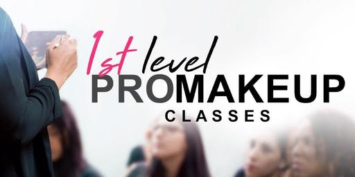 1st Level PRO Makeup Classes • Arecibo