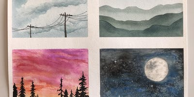 2 Week Watercolor Basics Class for Teens/adults