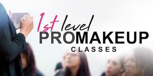 1st Level PRO Makeup Classes • Caguas