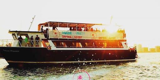 Spring Break Miami Boat Party