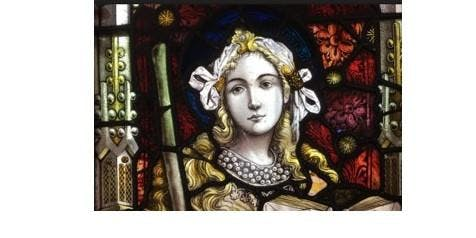 STAINED GLASS IN EXETER (free to members)