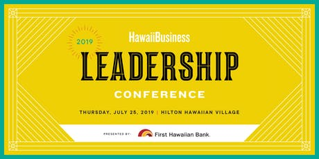 Hawaii Business Leadership Conference 2019 tickets